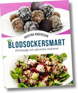 """Bok: """"Bli blodsockersmart"""" av Kristina Andersson"""