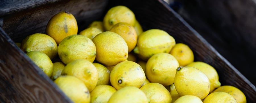 Citroner - sura och rika på nyttiga ämnen