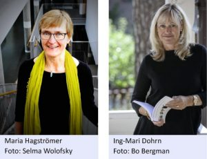 Maria Hagströmer (foto Selma Wolofsky, Ing-Marie Dohrn (foto: Bo Bergman)