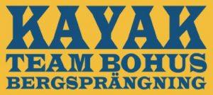 Kayak Team Bohus Bergsprängning, logotyp