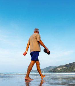 promenad - motion och rödbetsjuice föryngrar hjärnan