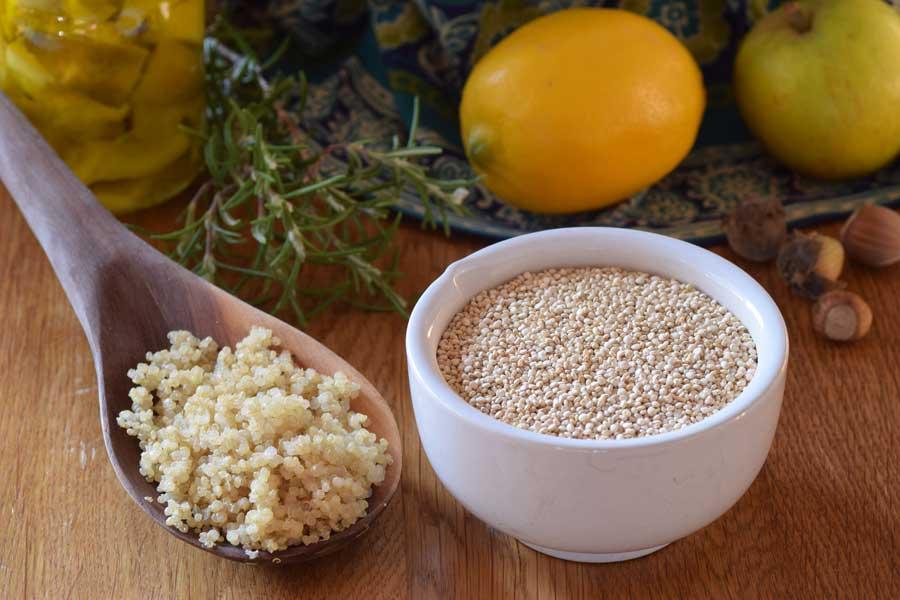 quinoa - proteinrikt, klimatsmart frö