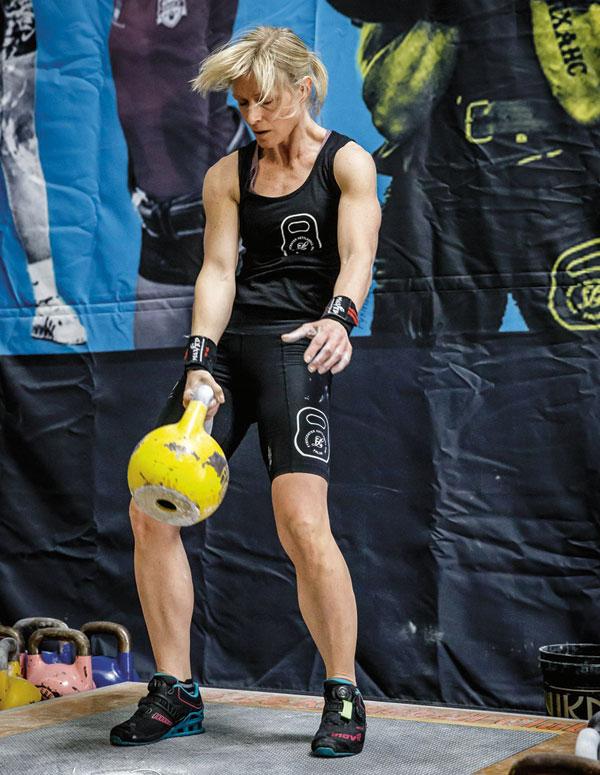 Ellinor Sjöström - kettlebell-VM