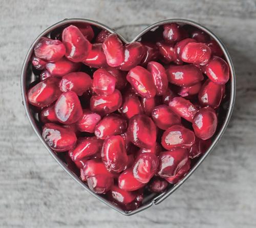 granatäpple bra för munhälsa och hjärta