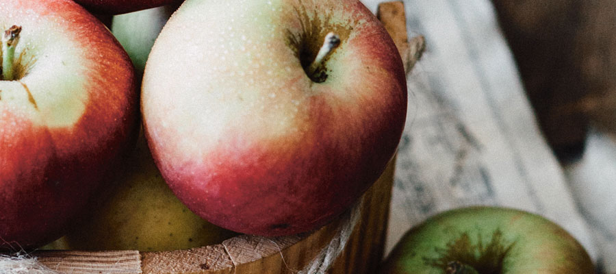 Äpplen - bra för magen