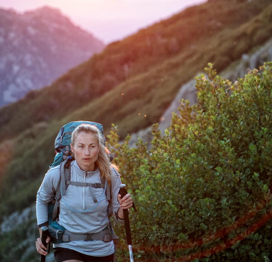 Att vandra ger motion och upplevelser