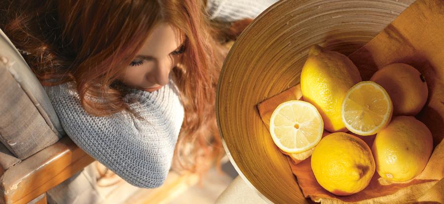 Citroner kan lindra magsjuka