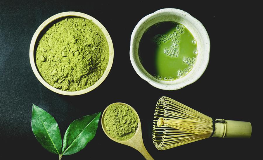 matcha - grönt te